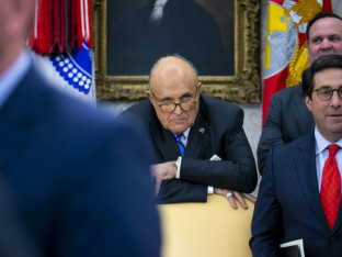 Guiliani at the White House