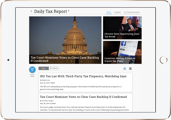 News & Insights - Bloomberg Tax & Accounting