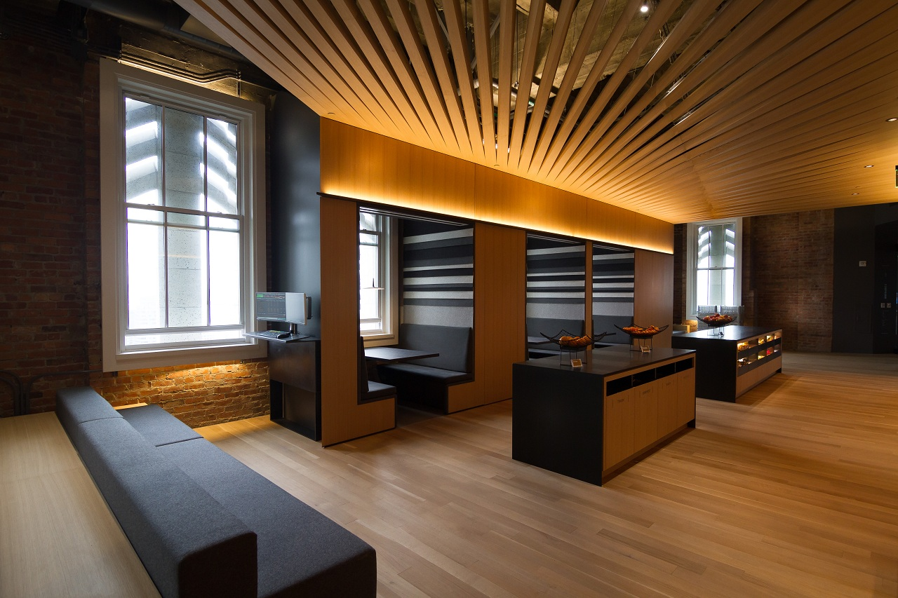 Design at bloomberg sf tech hub and new la office for Office design history