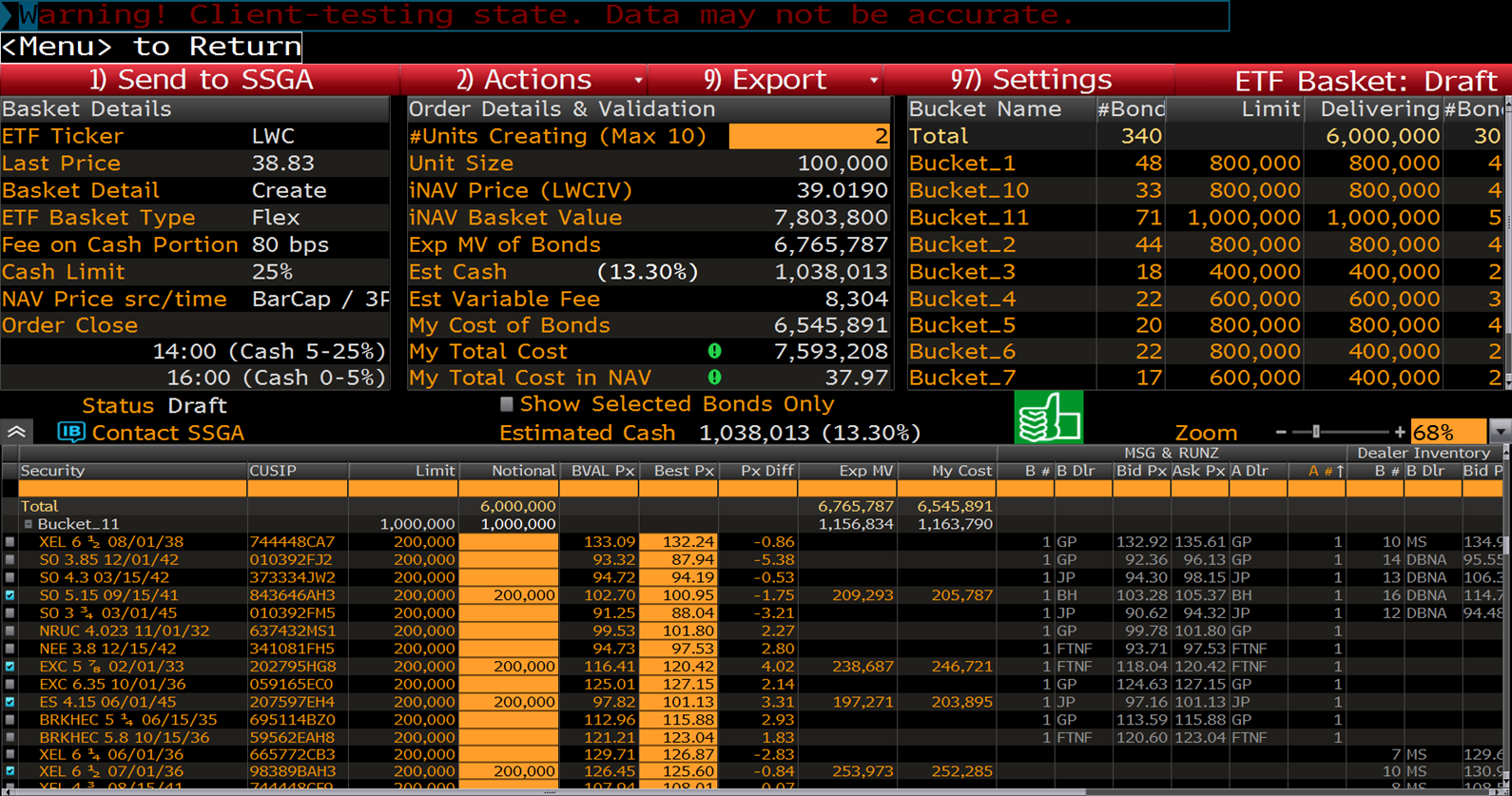 Fixed income quantitative trading strategies