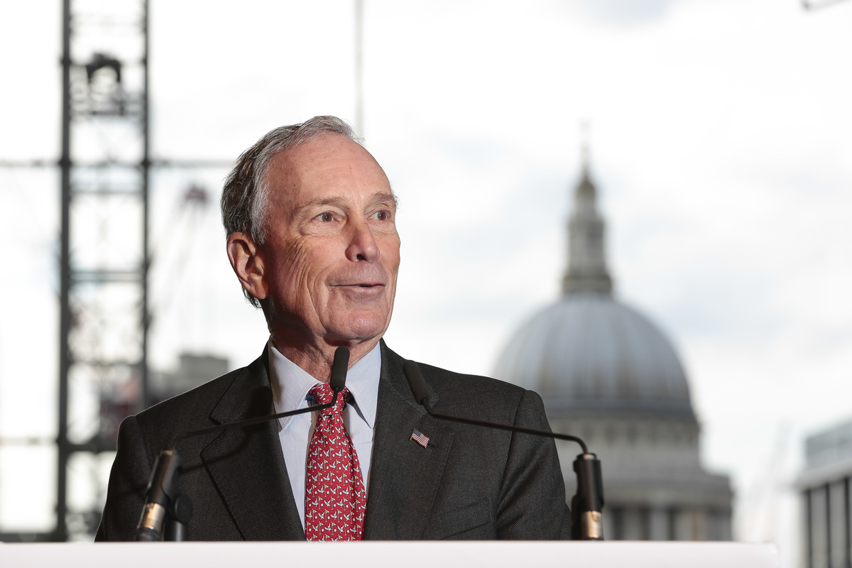 Michael R Bloomberg Founder LP And 108th Mayor Of New York City At
