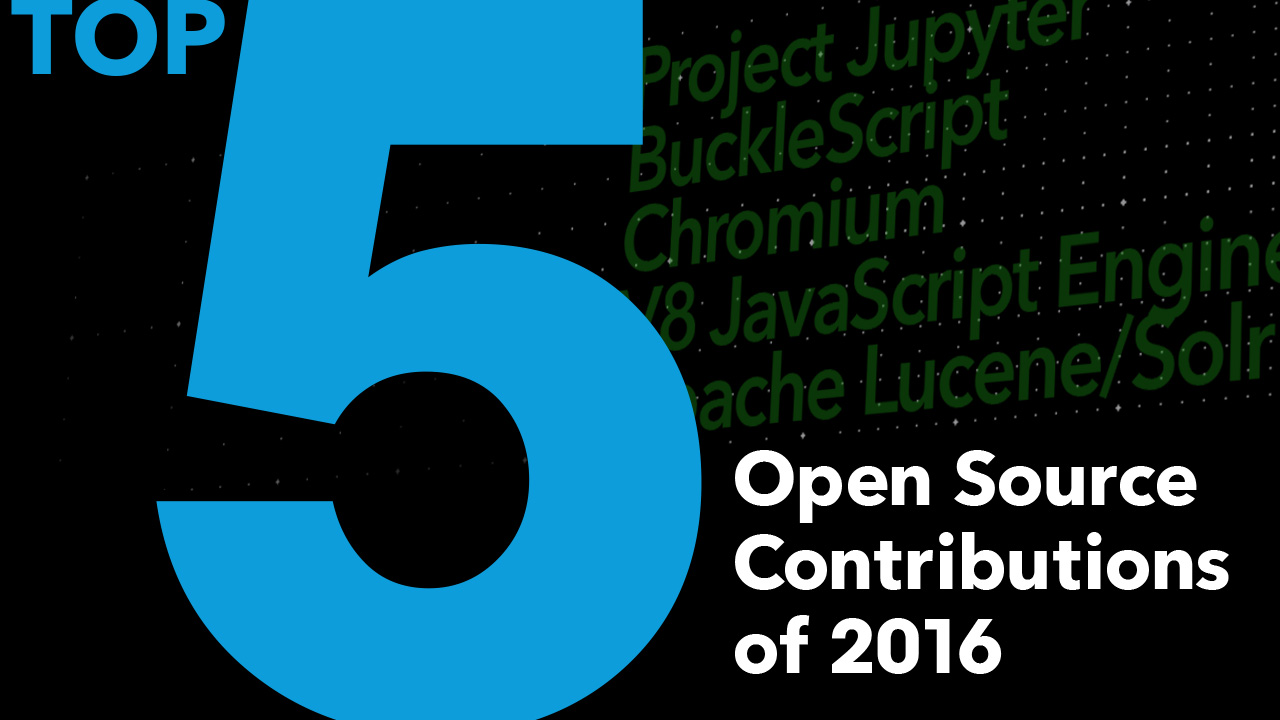 Bloomberg's 2016 Open Source Contributions: Top 5 Projects | Tech At