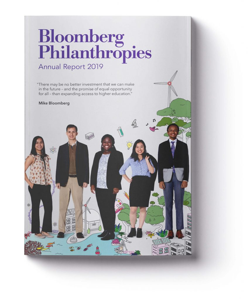 Bloomberg Annual Report Cover