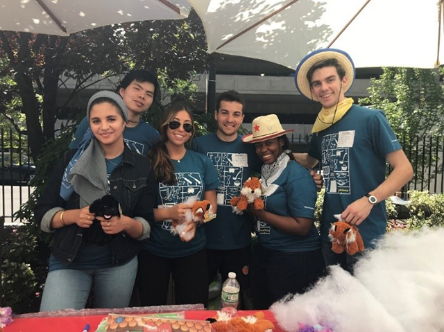 Bloomberg interns give back for annual day of service | Our