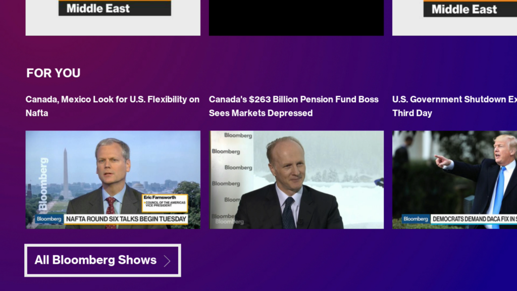 New Bloomberg Channel on the Roku Platform Offers Best of