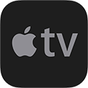 Bloomberg on Apple TV Logo