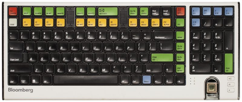 Groovy A Look Back The Bloomberg Keyboard Bloomberg Professional Home Interior And Landscaping Oversignezvosmurscom
