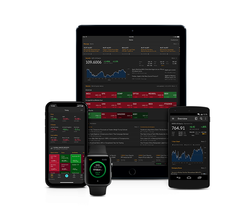 Bloomberg Professional App | Bloomberg Professional Services